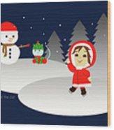 Christmas #6 Wood Print