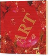 Christmas Artist's Pallet Wood Print