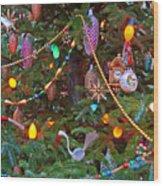 Christmas Bling #2 Wood Print