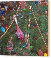 Christmas Bling #5 Wood Print