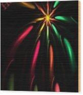 Christmas Card 110810 Wood Print