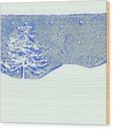 Christmas Card 2 Wood Print