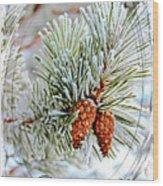 Christmas Card 2017 - 2 Wood Print