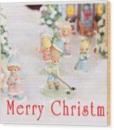 Christmas Card 5 Wood Print