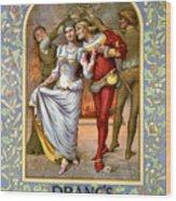 Christmas Cards, C1886 Wood Print