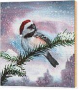 Christmas Chic Wood Print