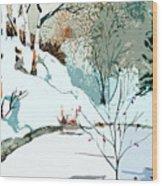 Christmas Crisp Wood Print