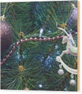 Christmas Decoration Wood Print