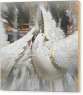 Christmas Doves Wood Print