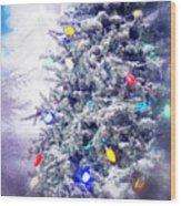 Christmas Dreams Wood Print
