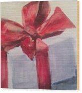 Christmas Gift Wood Print