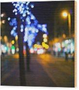 Christmas Heart Wood Print