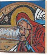 Christmas Icon 1 Wood Print