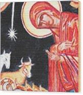 Christmas Icon 2 Wood Print