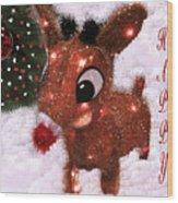 Christmas Image Wood Print