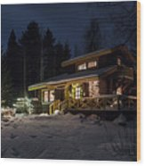 Christmas In Finland Wood Print