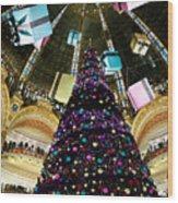 Christmas In Paris 2010 - #1 Wood Print