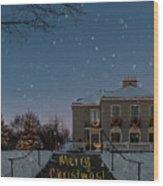 Christmas Lights Series #2 Wood Print