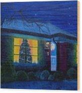 The Image Of Christmas Past Wood Print