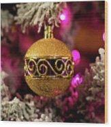 Christmas Ornament 1 Wood Print