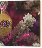 Christmas Ornament 2 Wood Print