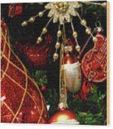 Christmas Ornaments 1 Wood Print