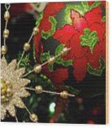 Christmas Ornaments 2 Wood Print