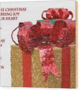 Christmas Packages Wood Print
