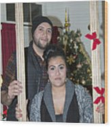 Christmas Party 2014 - 026 Wood Print