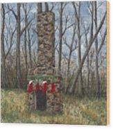 Christmas Past Wood Print