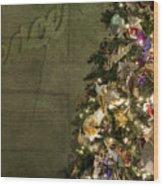 Christmas Peace Wood Print