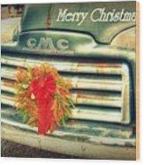 Christmas Pick Me Up II Wood Print
