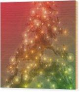 Christmas Radiance Wood Print