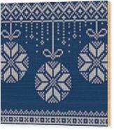 Christmas Sweater Wood Print