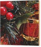 Christmas Time Is Here Wood Print