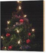 Christmas Tree 2 Wood Print