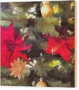 Christmas Tree 6 Wood Print