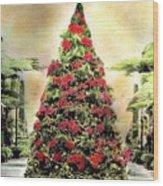 Christmas Tree Oh Christmas Tree Wood Print