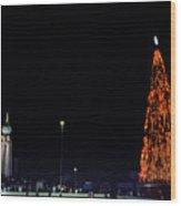 Christmas Tree San Salvador 1 Wood Print