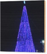 Christmas Tree San Salvador 2 Wood Print