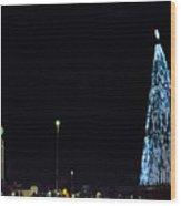 Christmas Tree San Salvador 3 Wood Print