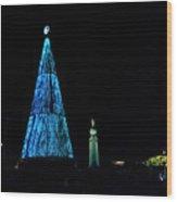 Christmas Tree San Salvador 4 Wood Print