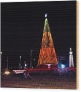 Christmas Tree San Salvador 6 Wood Print
