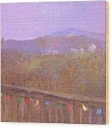 Christmastime Present Wood Print