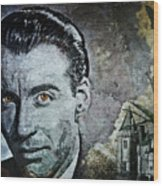 Christopher Lee Wood Print