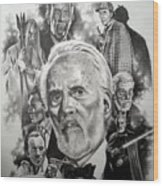 Christopher Lee Wood Print