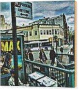 Christopher Street Greenwich Village  Wood Print