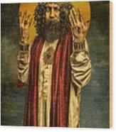 Christus Resurrexit Wood Print