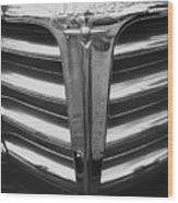 Chrome Grill 1948 Chevey Wood Print