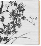 Chrysanthemum2 Wood Print